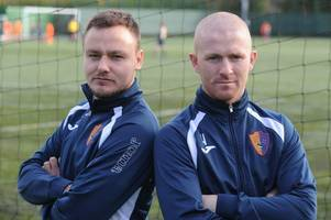 stranraer v east kilbride: winter and russell won't hold back against blues pals in scottish cup