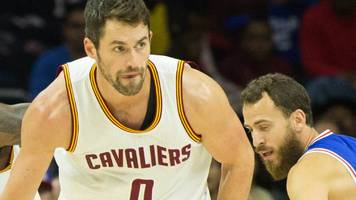 Kevin Love: Cleveland Cavaliers forward sets new NBA record