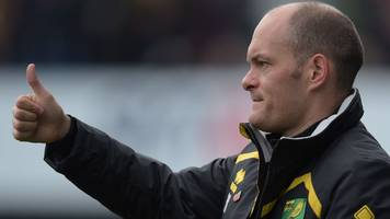 ed balls: norwich city manager alex neil has board's backing, says chairman