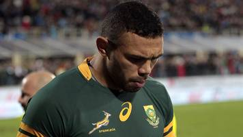 wales v south africa: wing brian habana dropped for wales game