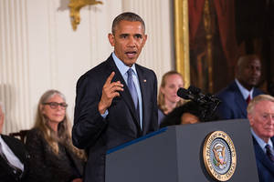 obama hosts his final 'presidential medal of freedom' event