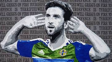 artist deepa mann-kler puts will grigg, carl frampton and george best in frame