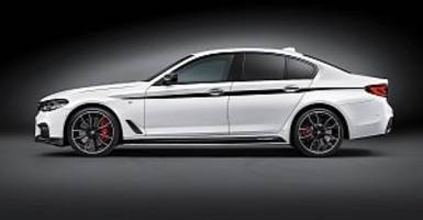 2017 BMW 5 Series G30 is Gifted With M Performance Accessories
