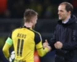 sensible tuchel to bench returning dortmund star reus