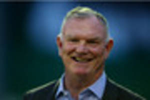 a special visit to leicestershire from fa chairman greg clarke