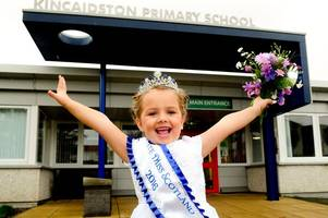 ayr girl lucy chambers is the toast of the town after winning petite miss scotland crown