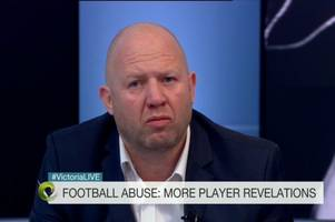 football paedophile ring was covered up as part of a conspiracy, victim claims