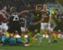 burnley 1-2 manchester city: aguero at the double in comeback
