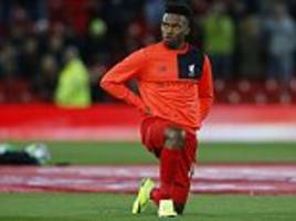 Liverpool star Daniel Sturridge to miss the Reds' clash with Sunderland after picking up a minor calf strain