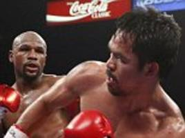 manny pacquiao insists floyd mayweather rematch remains a possibility