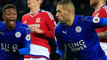 leicester 2-2 middlesbrough: claudio ranieri hails foxes' character