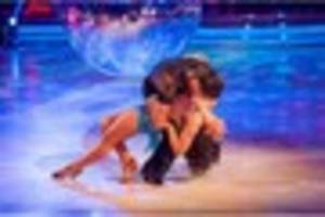 bristol's claudia fragapane wows strictly judged with sultry...