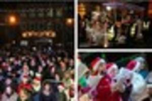Don't miss Santa at the switch on of Lichfield's Christmas lights...