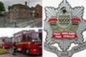 prince of wales pub in willenhall evacuated after fire broke out...