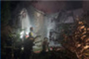 South Hams Fire crews tackle serious house fire on Dartmoor
