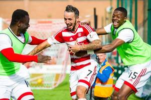 Hamilton star Dougie Imrie closes in on landmark appearance and show why kids should never give up their dream