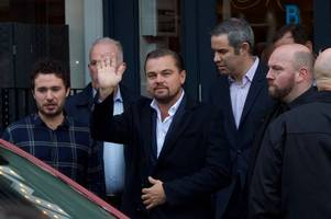 Leonardo DiCaprio and friends snap up £1000 worth of whisky on trip to Stirlingshire distillery