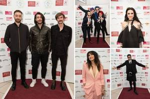 Scottish Music Awards 2016: Stars flock to national celebration of rising stars and rock veterans alike