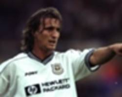 ginola: i was clinically dead for eight minutes