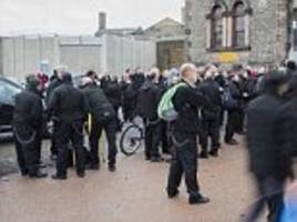 prison officers who crossed picket line are rewarded vouchers for argos, boots and debenhams