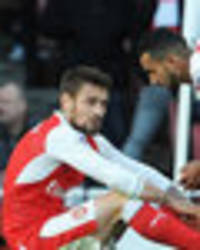 Arsenal boss Arsene Wenger devastated following Mathieu Debuchy injury
