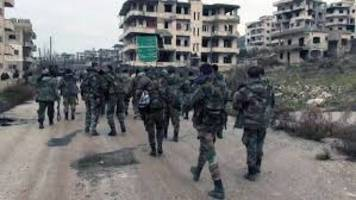 Syrian troops capture Aleppo neighbourhood from rebels