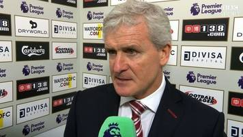 watford 0-1 stoke city: mark hughes says different style worked