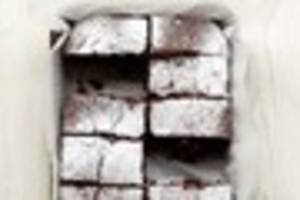 Recipes by Lucy Cufflin: How to make Christmas chocolate brownies