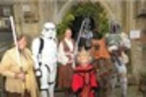 Here's what happened when Star Wars' Darth Vader gatecrashed a...