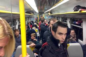 standing joke: scotrail contract clause reveals pledge on overcrowding is being ignored
