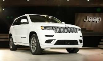 2017 Jeep Grand Cherokee Earns 5-Star Overall Rating from the NHTSA