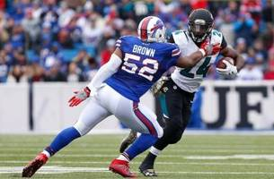 louisville football: preston brown led the bills to victory against the jags