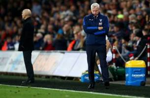 alan pardew hits the hot seat as crystal palace's free fall continues