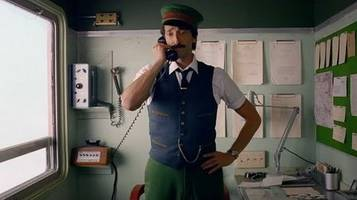 watch: wes anderson's festive short film 'come together' starring adrien brody
