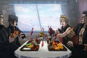 You should watch the Final Fantasy XV movie and anime before playing the game