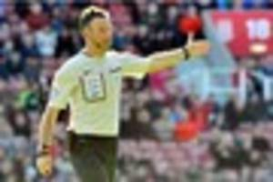 stoke city v burnley: referee announced for bet365 clash