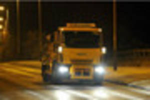 Gritters take to the roads as temperatures in Gloucestershire...