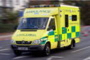 Pedestrian rushed to hospital after suffering multiple injuries...