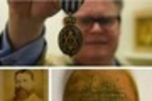 dartmouth lifesaving hero's medal to sell for £10,000