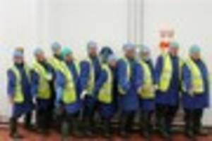 300 jobs on offer making cream cakes and pizza for m&s,...