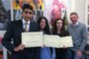 Churchill Academy qualifies for national Maths Challenge...