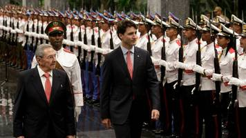Justin Trudeau will not attend Fidel Castro's funeral
