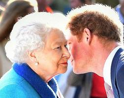 prince harry receives queen elizabeth's blessing to marry meghan markle; prince william gives support amid kate middleton divorce?