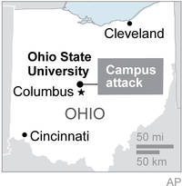 ohio state university shooting suspect dead