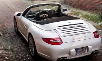 porsche 911 cabriolet tries to pass as mclaren f1, three-seater now for sale