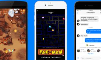 facebook messenger ups its game, lets users play 'pac-man,' more with friends