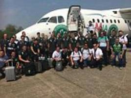 Comedian apologises for 'sick' joke minutes after Brazilian football team plane crash, saying the survivors were calling for a penalty