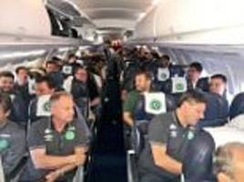 plane carrying chapecoense brazilian football team crashes in columbia