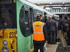 Southern rail drivers announce more plans to strike in run-up to Christmas