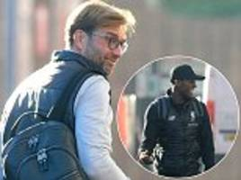 Liverpool FC players pitch up at Anfield ahead of Leeds clash as Jurgen Klopp mixes fresh talent with experience